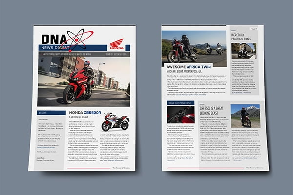 Honda Motorcycles Press Digest