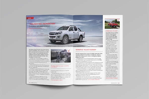 Isuzu Dealer Booklet