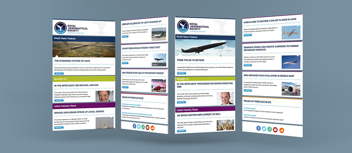 RAeS HTML Newsletter