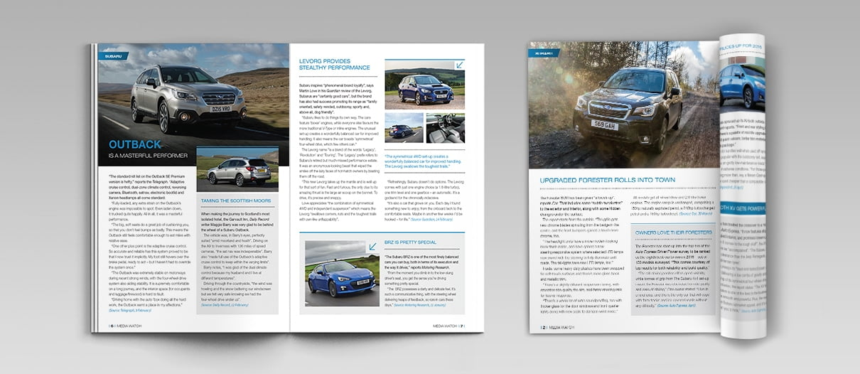 Subaru Dealer Booklet